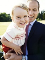 Prince George and Prince William July 2015