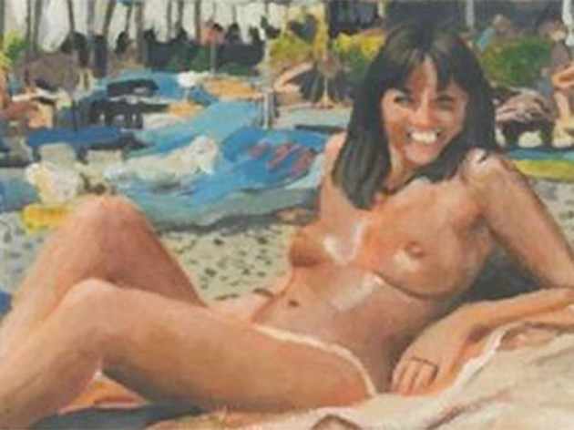 Davina mccall in the nude