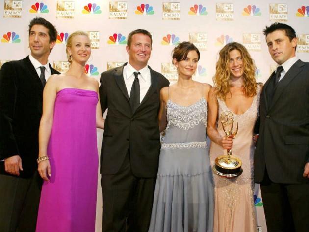 Jennifer Aniston Matt Leblanc Kissing
