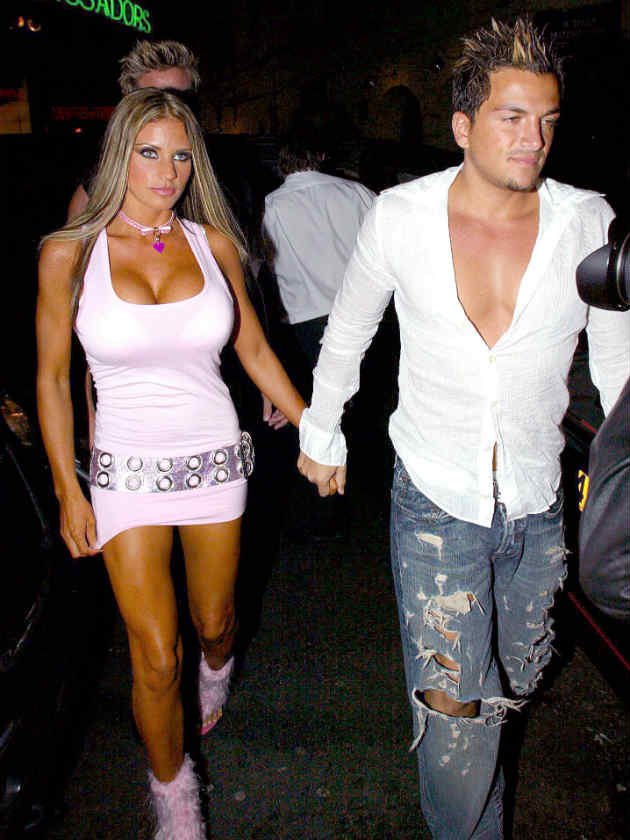 Katie Price And Peter Andre The Toxic Twist