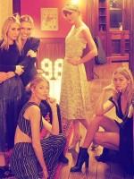 Ashley Avignone, Karlie Kloss, Martha Hunt, Taylor Swift and Gigi Hadid