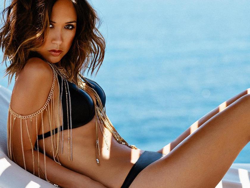 Topless myleene klass bikini pictures ariane andrew