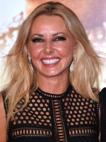 10. Carol Vorderman Mathematic genius Carol proves the dumb blonde stereotype is on it's way out. She's joint 10th on the list with Denise Van Outen.