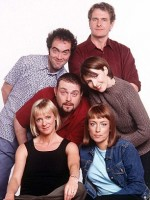 The cast of Cold Feet