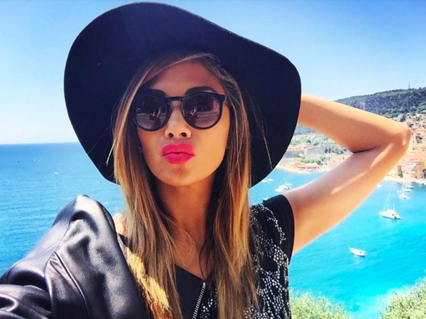 Nicole Scherzinger on holiday