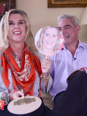 Gogglebox's Steph and Dom