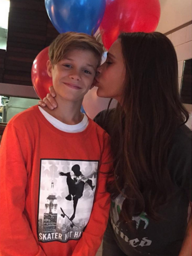 Inside Romeo Beckham S Birthday Party Victoria And David