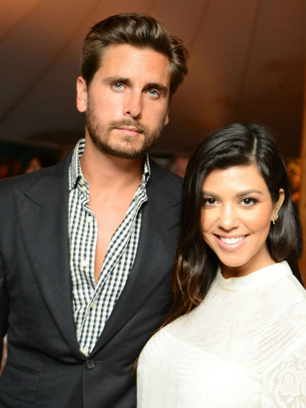 Kourtney Kardashian and Scott Disick's Instagram war
