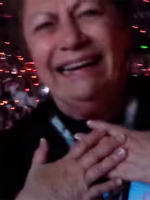 72-year-old grandma loses it at a Taylor Swift concert
