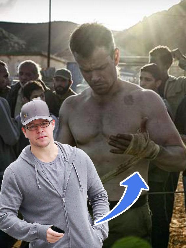 See Matt Damon's amazi...