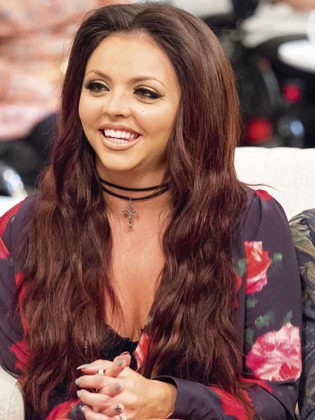Jesy Nelson Natural Hair Color
