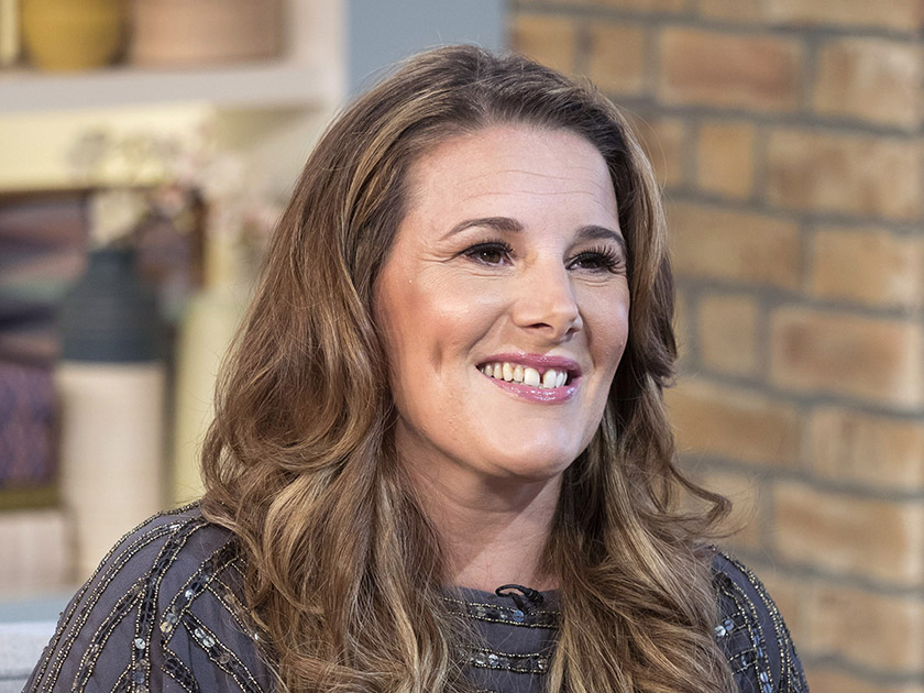 X factor sam bailey red dress lucy