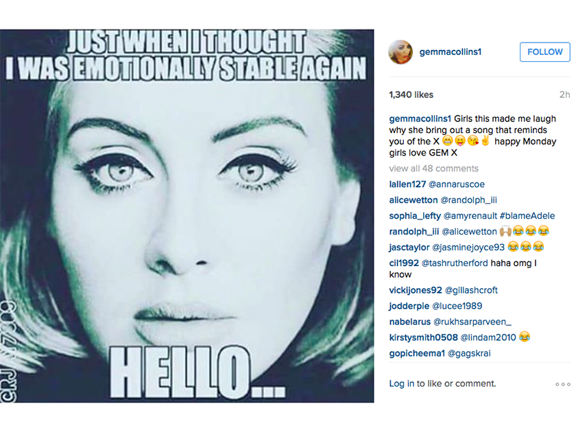 The Funniest Internet Reactions To Adele S Hello