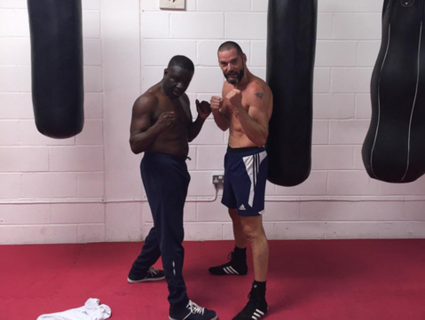Image result for fred sirieix boxing