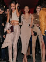 Joan Smalls, Gigi Hadid and Kendall Jenner