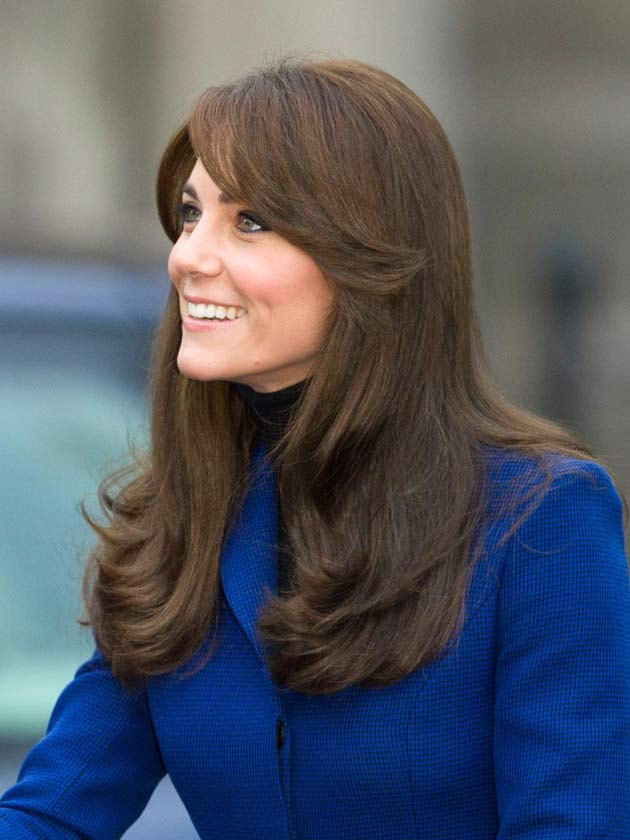 How To Get Kate Middleton Bouncy Blow Dry Hair