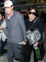The Kardashians at LAX Los Angeles International Airport, America - 02 Apr 2014