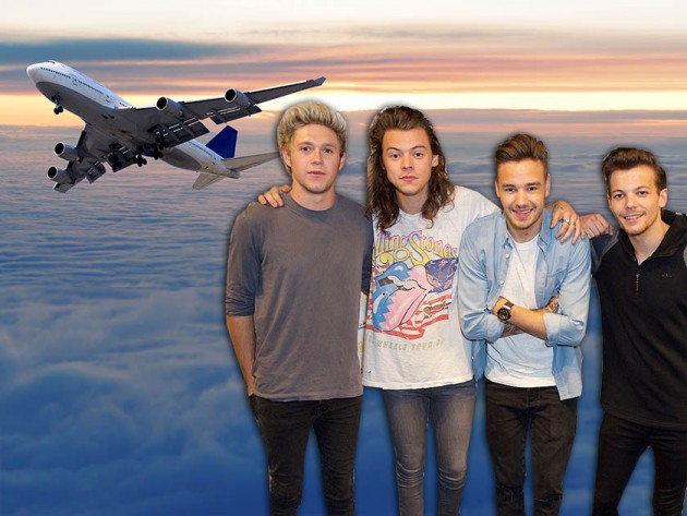 One Direction join the Mile High Club! See which members have had