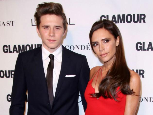 Beckham s eldest son dating a non