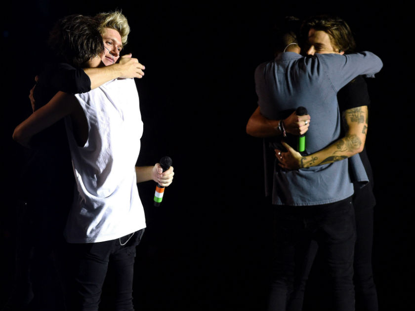 One Direction Give An Emotional Goodbye At Final Tour Date This Is