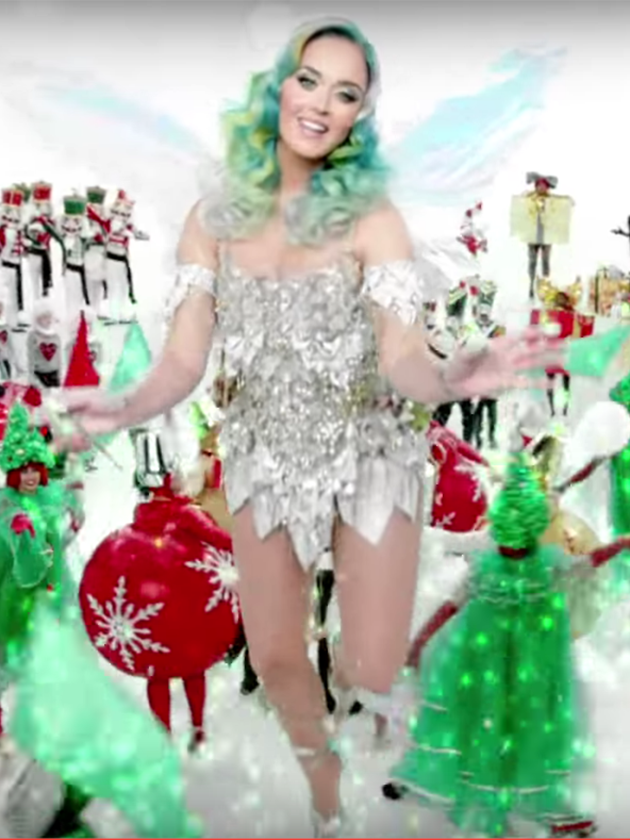 WATCH: Katy Perry's Ch... Katy Perry Christmas Song