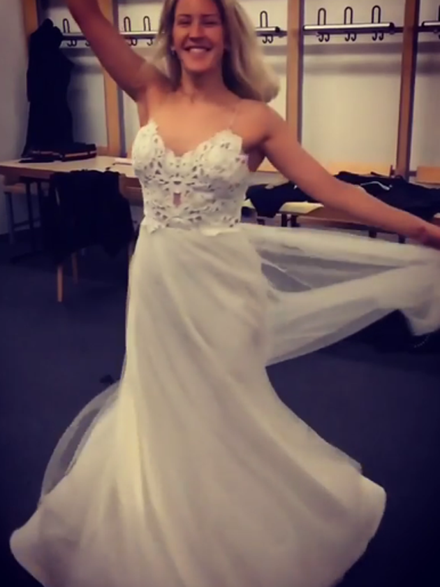 Ellie Goulding Teases Wedding Dress
