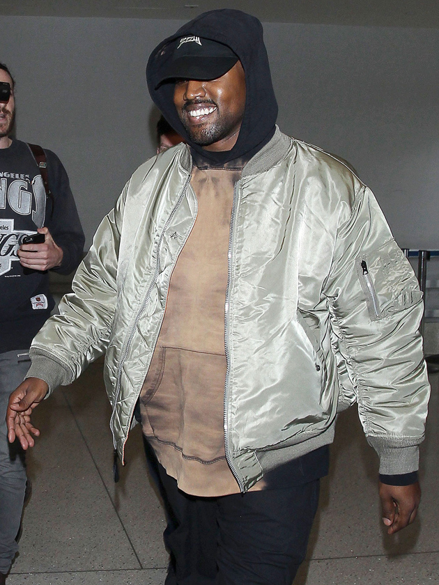 Kanye West Causes Major Controversy At His Latest Fashion -4496