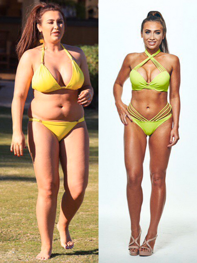 'Don't judge me': Lauren Goodger is on a six-month booze ban