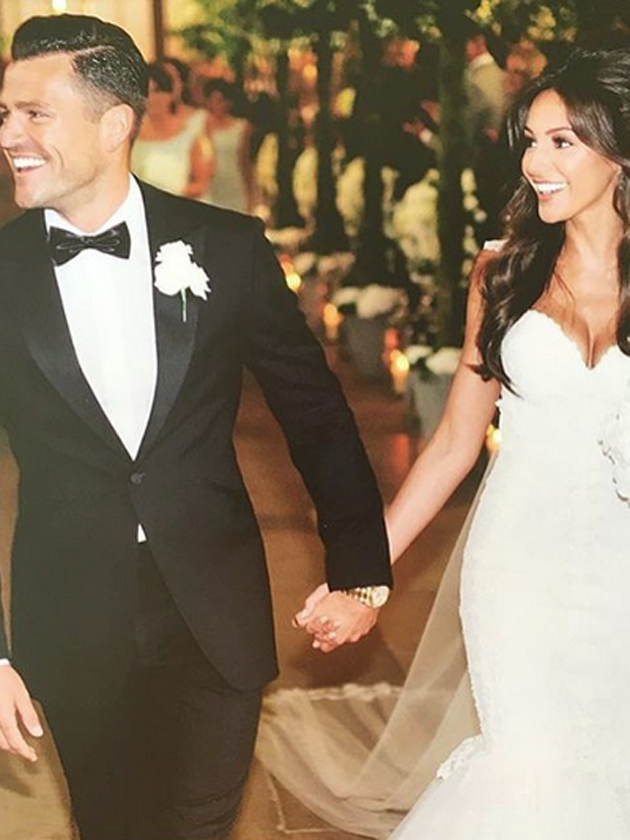 Mark wright wedding