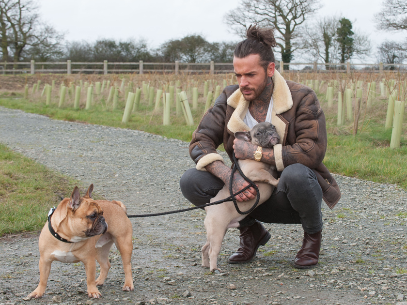 Towie S Pete Wicks Adopts A Puppy Now We Love Him More