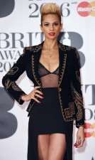 Mandatory Credit: Photo by David Fisher/REX/Shutterstock (5593462cf) Alesha Dixon The Brit Awards, Arrivals, O2 Arena, London, Britain - 24 Feb 2016