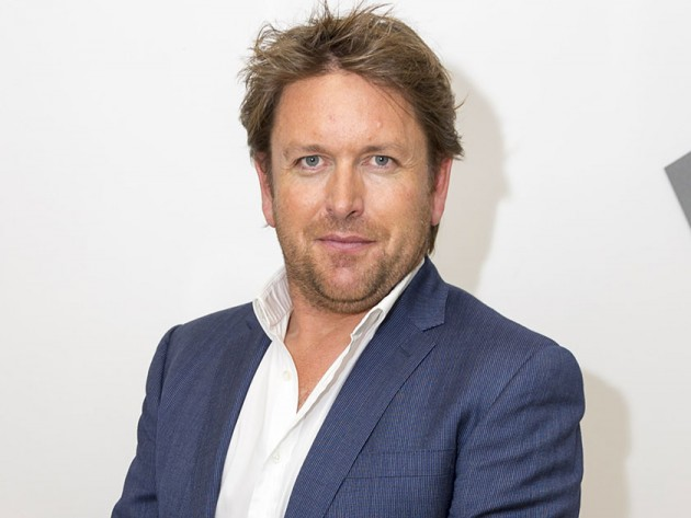James Martin wears  (Suit )