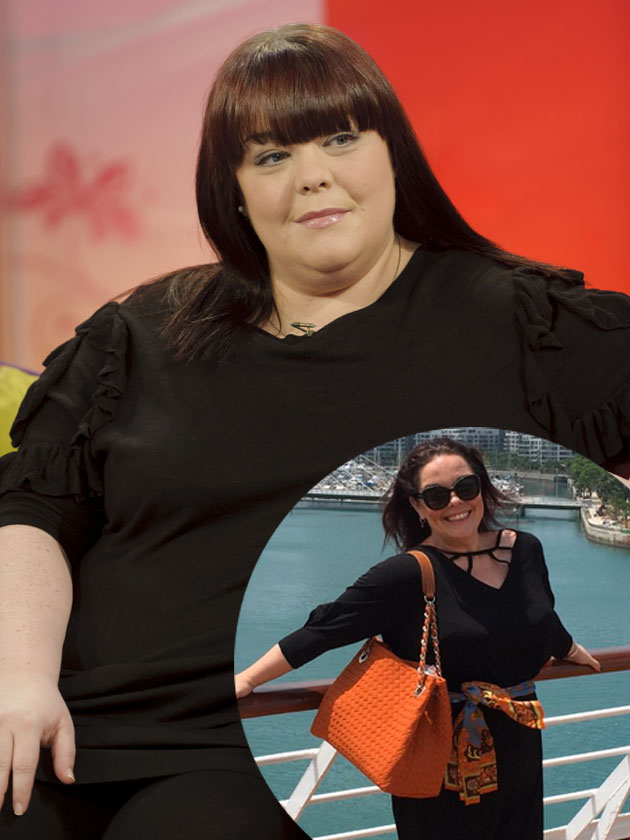 How did Lisa Riley lose EIGHT stone in weigh in under a year?