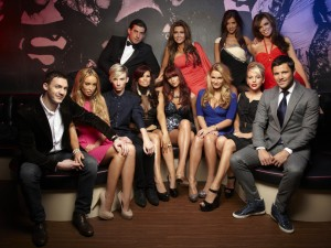EDITORIAL USE ONLY / NO MERCHANDISINGMandatory Credit: Photo by ITV/REX/Shutterstock (1325971a)L-R (Top) - James Argent, Lauren Goodger, Lucy Mecklenburgh, Maria Fowler. L-R (Bottom) - Kirk Norcross, Lauren Pope, Harry Derbidge, Jessica [Jess] Wright, Amy Childs, Sam Faiers, Lydia Bright and Mark Wright.'The Only Way Is Essex' TV Programme - Apr 2011