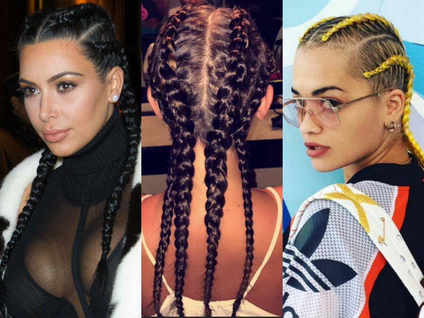 Brilliant Celebrity Hair Braids See The Best Star Styles Of The Trend Hairstyles For Women Draintrainus
