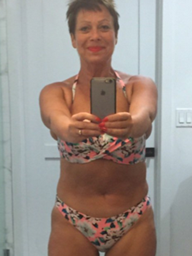 Denise Welch shows off weight loss with a Coachella bikini pic