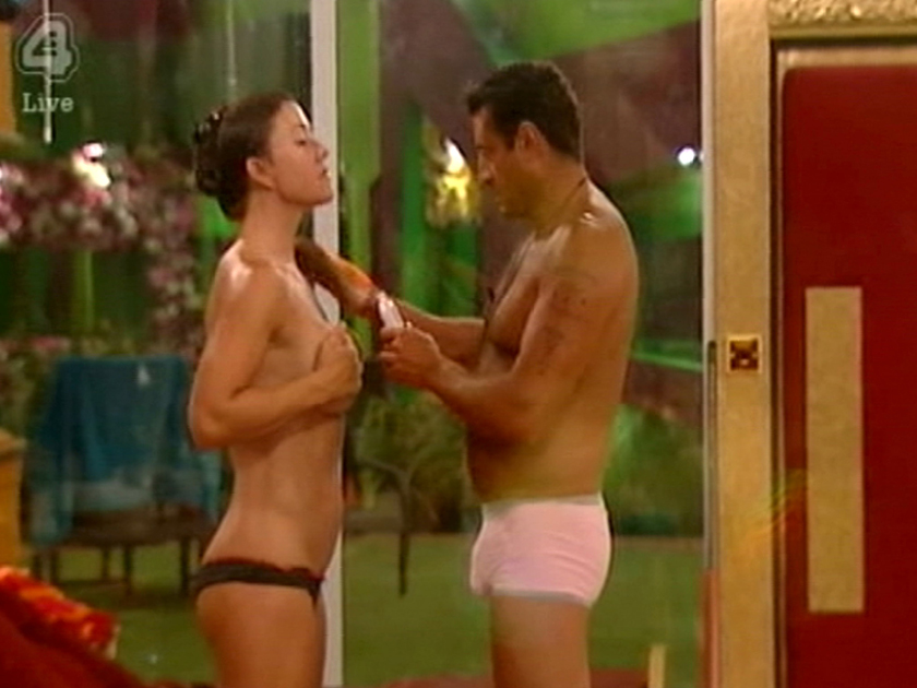 Girls getting naked together