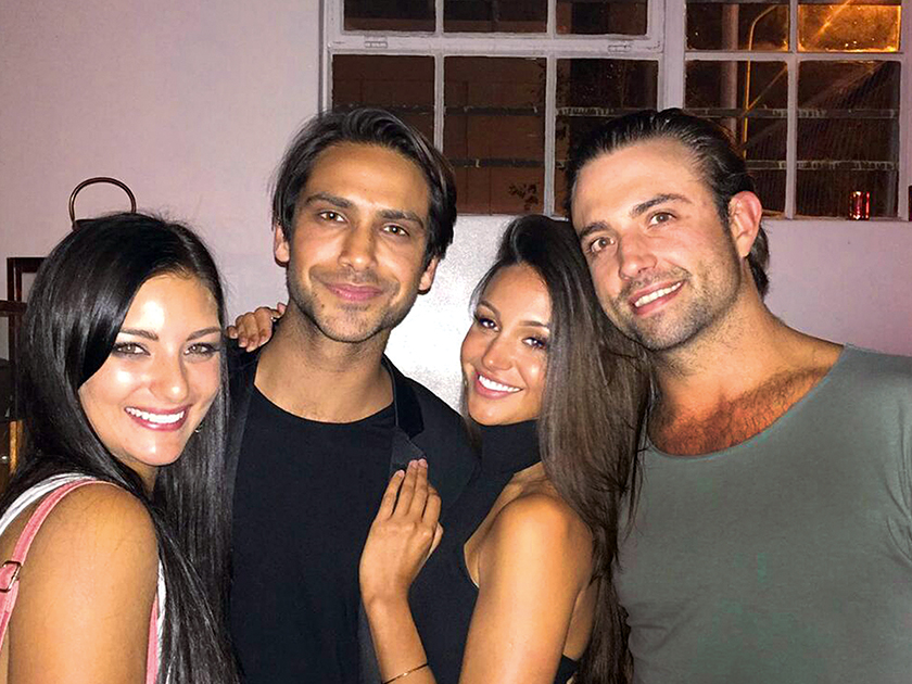 Luke is good friends with his Our Girl cast mate Michelle Keegan [Instagram]