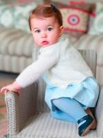 Princess Charlotte: Cute as a button