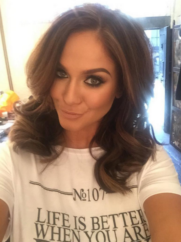 Vicky Pattison Caught Up In Harry Styles New Hair