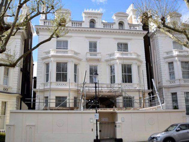 The mansion cost a whopping £31 MILLION!