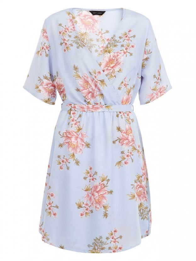 Light floral motif summer dress