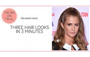 3 HAIR LOOKS