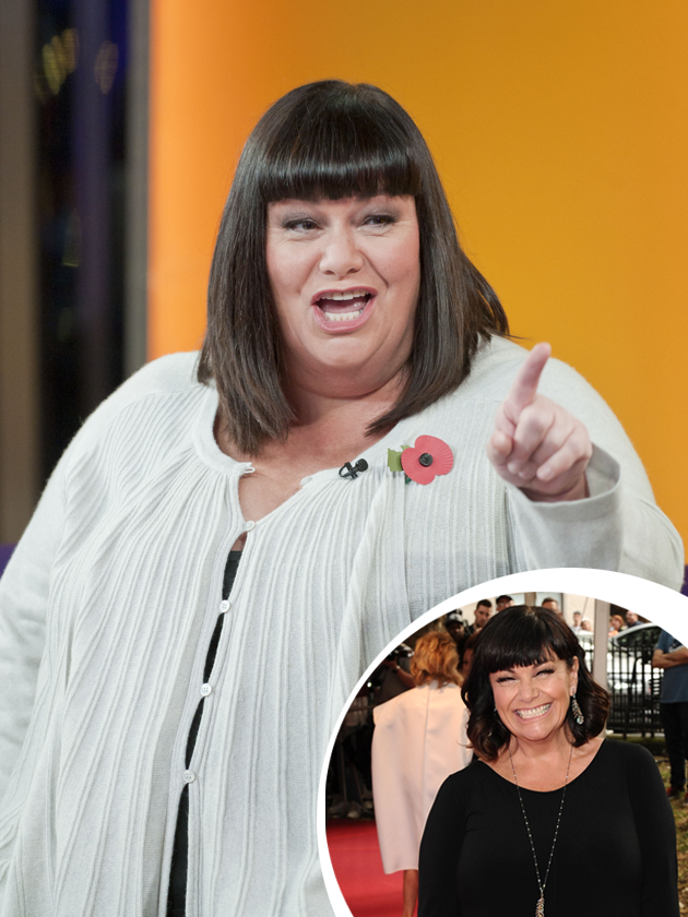 Dawn French Weight Loss Dawn French looks slim...