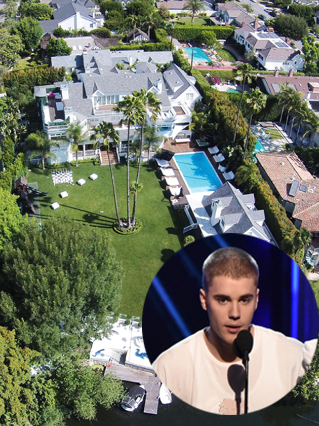 Inside Justin Bieber S 163 50 000 A Month Party Pad