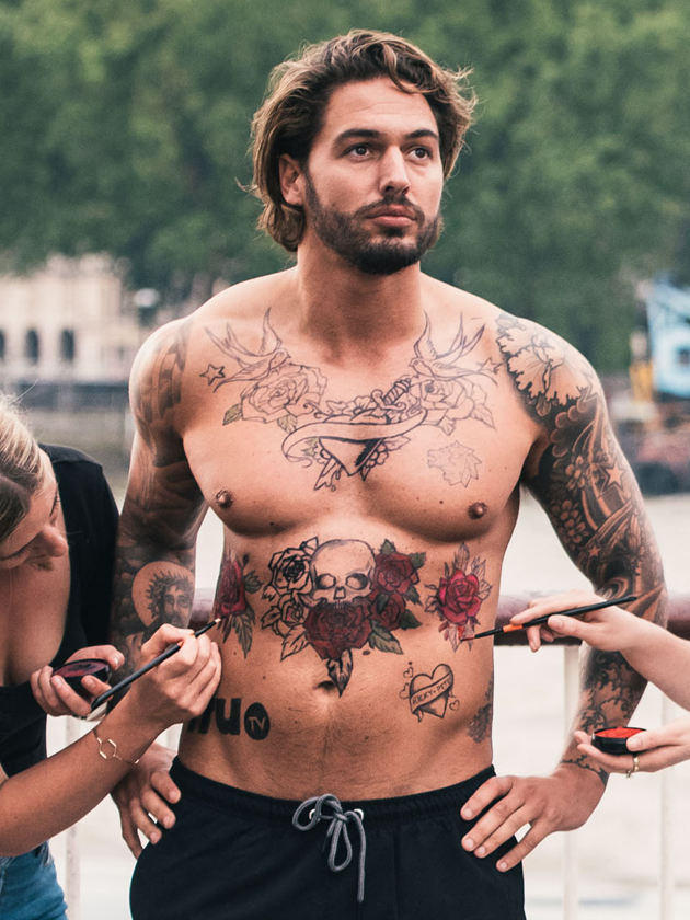 Mario Falcone I M Having My Lucy Mecklenburgh Tattoo