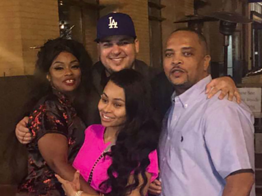 Blac Chyna's dad tells Now: 'Rob and Blac are having a ...