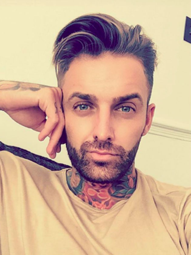 Geordie Shore S Aaron Chalmers Gets A New Tattoo In The