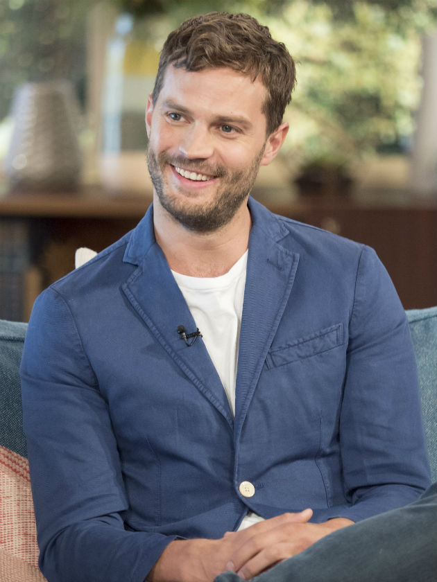 Fifty Shades Jamie Dornan Sends Twitter Wild With Bulge