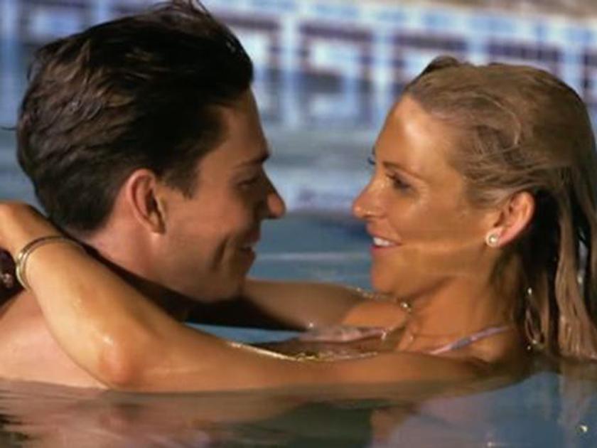 Swimming dating sim